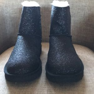 UGG Shoes - Black size 7 with sparkles Boots UGG